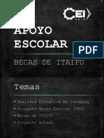 Apoyo Escolar Becas Itaipu