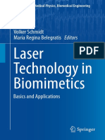 (Biological and Medical Physics, Biomedical Engineering) Volker Schmidt, Maria R. Belegratis (Auth.), Volker Schmidt, Maria Regina Belegratis (Eds.)-Laser Technology in Biomimetics_ Basics and Applica