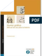 Humor gráfico. Manual de uso para la historia (Florencia Levín)