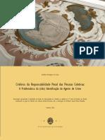 Critérios Da Responsabilidade Penal Das Pessoas Colectivas