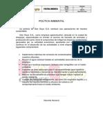Política Ambiental 01
