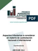 Aspectos Tributarios de Contratacion Nacional-Internacional