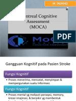 Montreal Cognitive Assessment (MoCa)