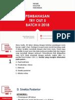 Pembahasan to Fdi 5 Batch II 2018