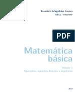 APOSTILA - Matemática Básica
