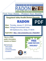 Radon Education Session Flyer