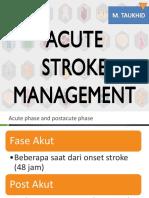Acute Stroke Management for Nursing