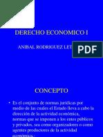 Derecho económico I
