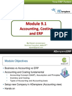 9.1_Costing and ADempiere