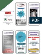 Leaflet Mari Berantas Malaria