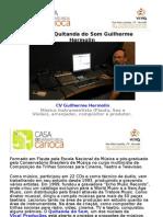 Estudio Quitanda do Som Guilherme Hermolin | Casa de Dramaturgia Carioca