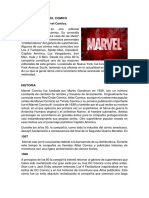 Historia de Marvel Comics.