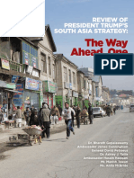Review of President Trump's South Asia Strategy