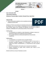 Acta Equipo Tecnico