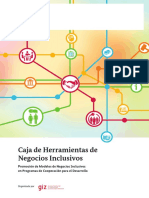 Caja de Herramientas de Negocios Inclusivos