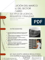 Evolución Del Marco Legal Del Sector Bancario