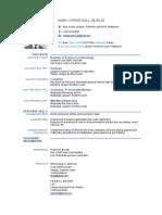 Purposive Communication- CV