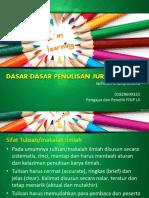 3 Presentasi Writing Clinic
