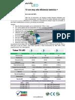 Tubos T8 110lms-w
