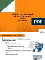 Cylinder Pressure Closed Loop Control