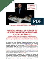 Comisión Investigación CASO RELÁMPAGO