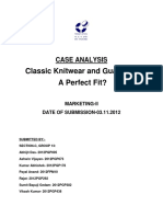 MARKETING CASES