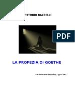 La Profezia Di Goethe