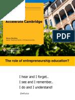 Entrepreneurship and Entrepreneurial Behaviour