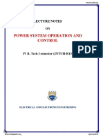 Power System Operation and Control_unit-1 (1)