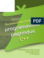 Siuolaikiskas zvilgsnis i programavimo pagrindus C++. Pasirenkamasis IT kursas IX-X kl. (2010).pdf