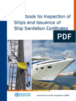 WHO Ship Sanitation Handbook