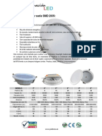 Downlight - Serie SMD2835 Circular