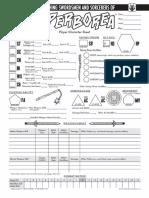 ASSH Character Sheet