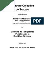 contrato colectivo de trabajo, petróleos mexicanos