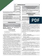 DECRETO SUPREMO 101 REFORMAS CONSTITUCIONALES
