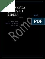 Romo Avila Quetzalli Teresa