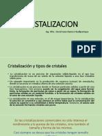 Cristalizacion Gk 2018 II
