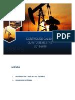 Control de calidad de petróleo