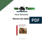 Benedetti Mario - Rincon de Haikus
