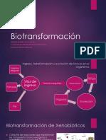 Bio Transformaci ó n