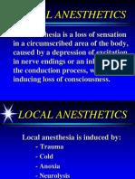 Local Anesthetics 2005