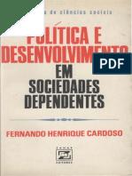 Cardoso - Política e Desenvolvimento