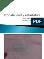 Probabilidad y Estadística Evidencias