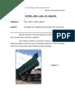 Informe 03-30-10-2018 (Acarreo Interno de Material)