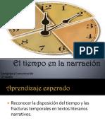 2°M, TIEMPO EN  LA NARRACIÓN, LORENA VERA.pptx