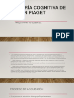 Pensamiento y Lenguaje Piaget