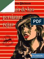 Dickson Carter - Detrás de Las Persianas Rojas