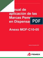 MANUAL DE APLICACIÓN DE MARCAS PEMEX