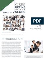 Convercent eBook 5 Exercises to Help Define Your Companys Core Values