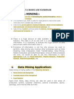 Mod1-Data Mining and Warehousepdf